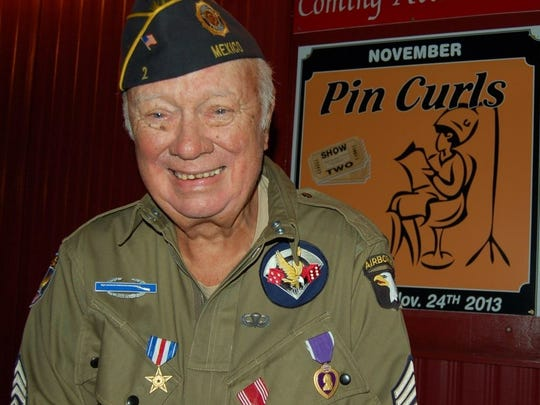 The show will be in honor of Harley Dingman, an American hero. Harley, who recently passed away, was a War World II paratrooper who fought throughout Europe.