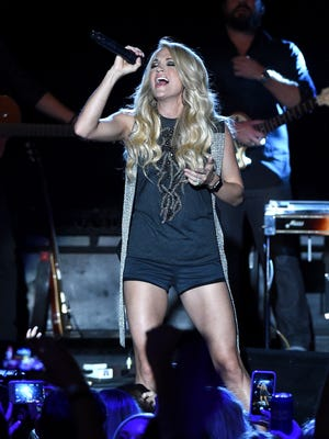 Carrie Underwood is bringing her first in-the-round tour to the Resch Center on May 5.