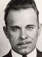 John Dillinger mug shot when the authorities caught up with him in Tucson, Arizona, on January 25, 1934.