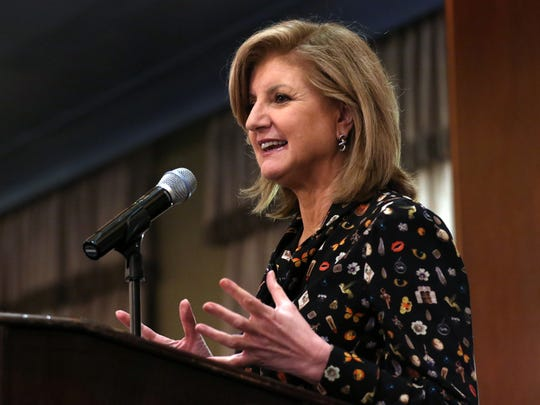 'Sleep is non-negotiable,' shared Huffington Post Editor-in-Chief Arianna Huffington during Robert Wood Johnson University Hospital's 'Healthfest 2016' on Tuesday night.