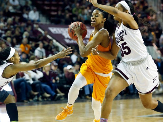 Tennessee guard Diamond DeShields was named first-team