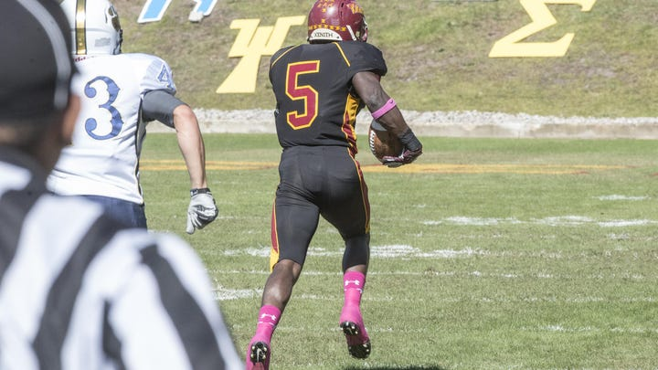 Tuskegee LB Thompson is a 'different football player'