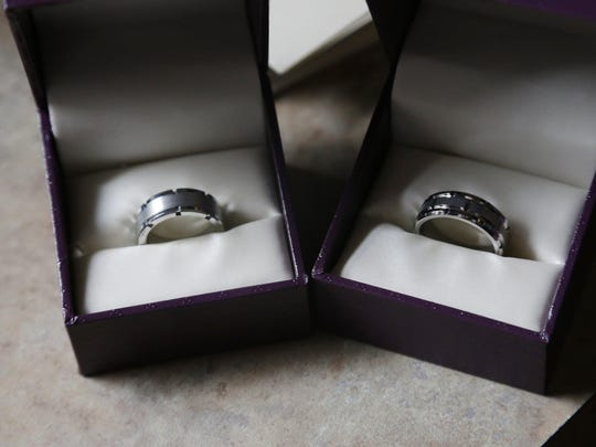 Nearly $60,000 in goods and services have been donated in a show of gratitude. These rings are among them.