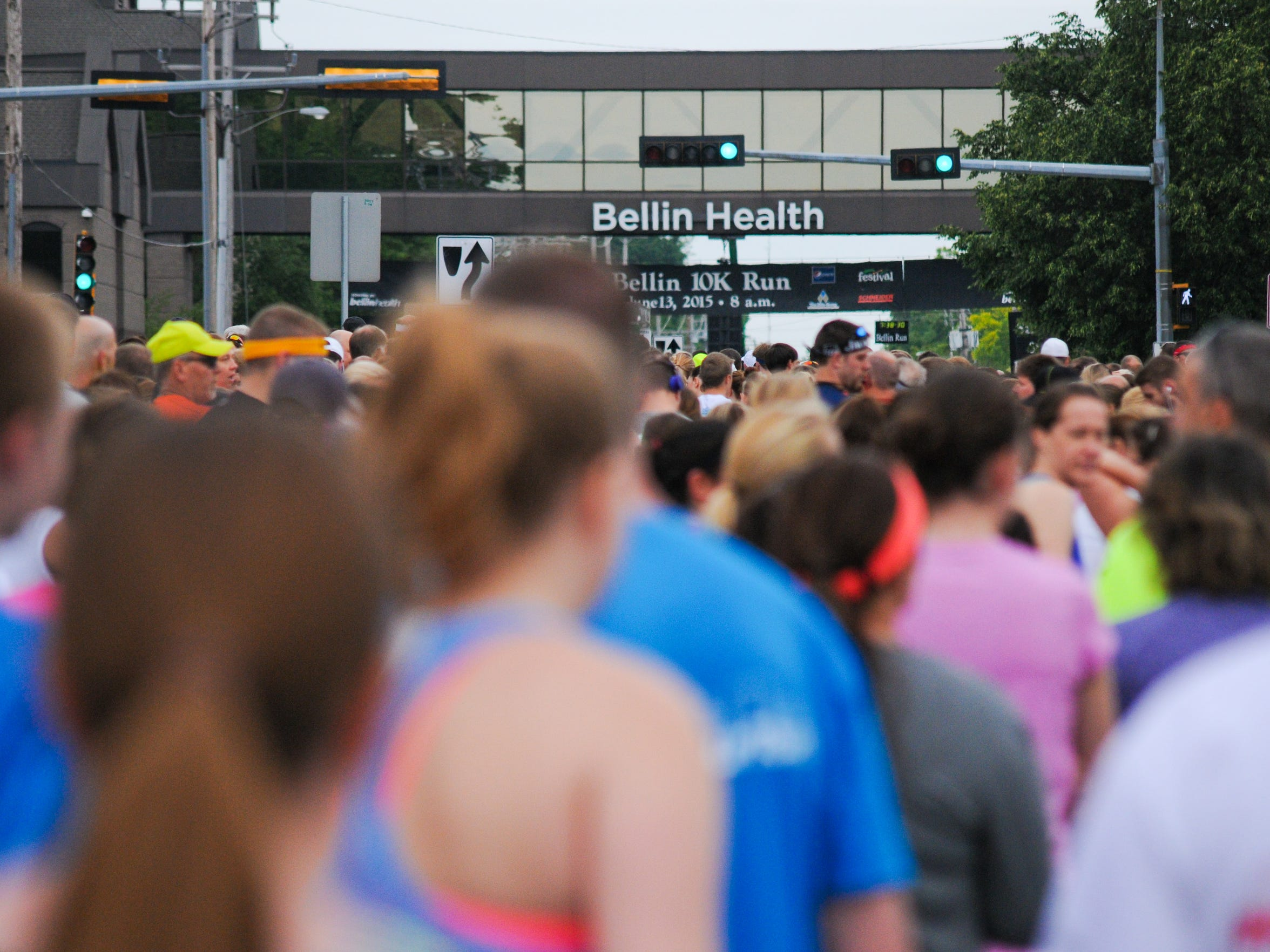 More than 16,000 runners participated in the 39th annual Bellin Run in June.