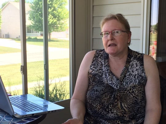 Jean Eichelberger of Polk City, who buys an Obamacare subsidized policy from Aetna, is among more than 70,000 Iowans who could lose such insurance for 2018.