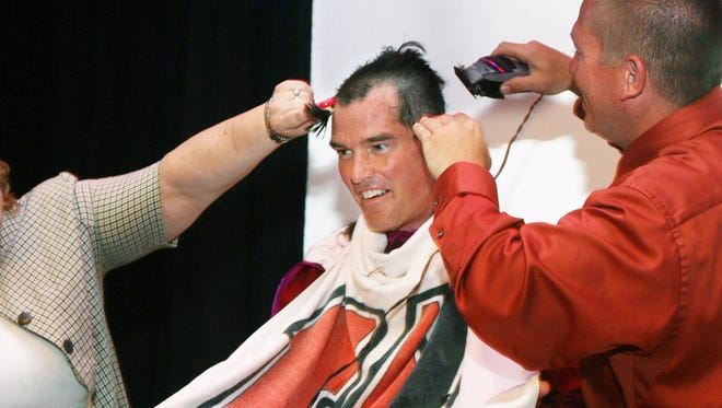 Woodbridge schools often held rallies to get students enthused about standardized tests. In 2010, then Woodbridge High School Vice Principal Martin Scarano shaved his head after students performed well on tests.