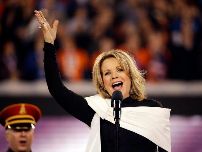 Opera singer Renée Fleming, a Rochester native, sang the national anthem before Super Bowl XLVIII.