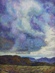 """Storm over Transmountain"" by Robert Dozal"