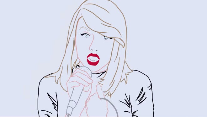University of Newcastle students pay tribute to Taylor Swift by creating a hand-drawn, rotoscoped version of Swift's 'Shake It Off.'