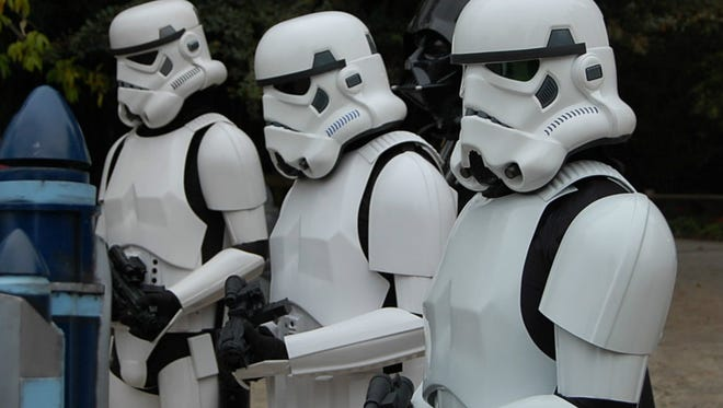 """Stormtrooper invasion? Stormtroopers will be among the """"Star Wars"""" characters visiting Zoo Knoxville on March 18."""