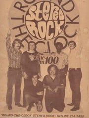A vintage FM promo poster.