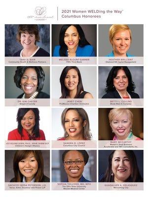 WELD will honor 12 women leaders at its virtual Calendar Reception Nov. 5.