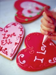 Eli's Bread and Pastry will create customized Valentine's shortbread cookies with a personal Valentine's Day message