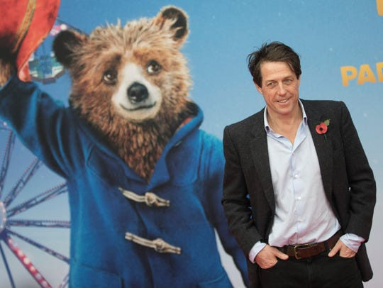 Hugh Grant at German premiere of 'Paddington 2' in