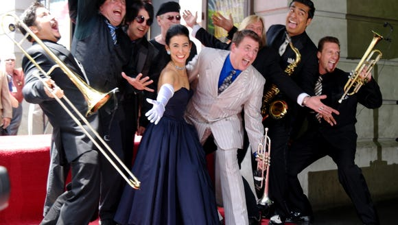 Louis Prima Jr. & The Witnesses play big-band jazz,