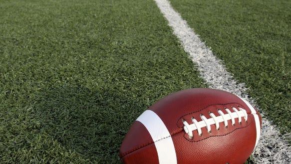 Football stock photo.