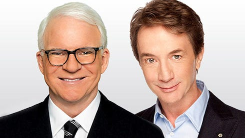 Steve Martin (left) and Martin Short (right) will bring their variety show to the Civic Center in October.