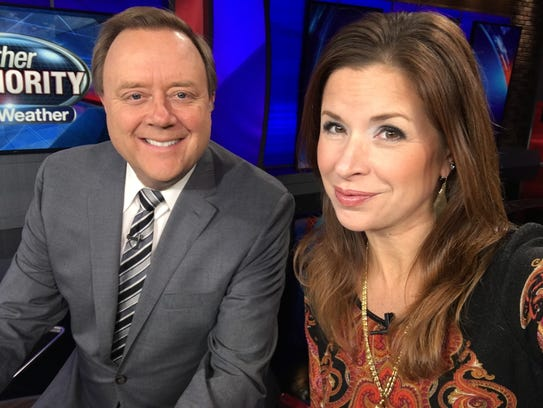 Ron Savage and Amy Lange were Fox2 News weekend evening