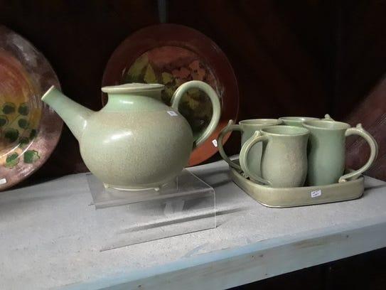 Ceramicist Barbara Bravo creates porcelain teapots