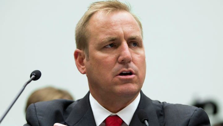 In this 2013 photo, Rep. Jeff Denham, R-Calif., testifies