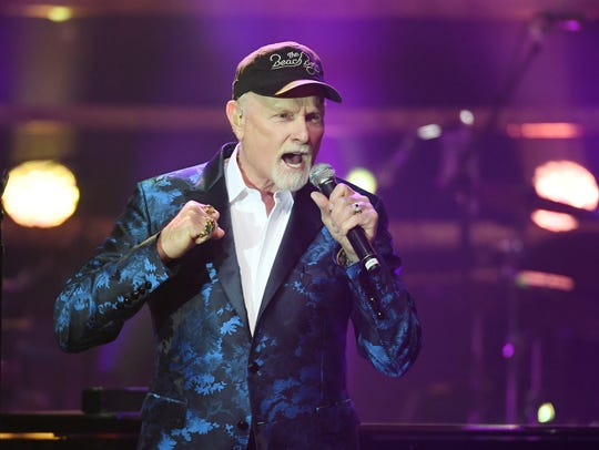Mike Love of the Beach Boys performs during Muhammad