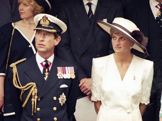 FILE - This 1991 file photo shows Prince Charles with his wife Princess Diana. FX has announced a 10-episode series that will spotlight the doomed royal couple Charles and Diana. It is scheduled to air in 2018. No cast members were disclosed by the network.