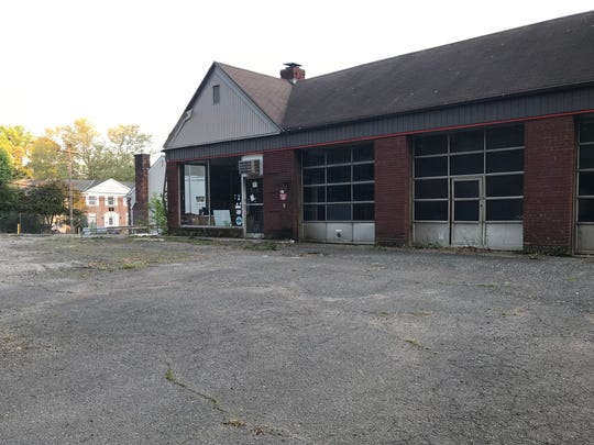 The site of this abandoned gas station seen at Chatham