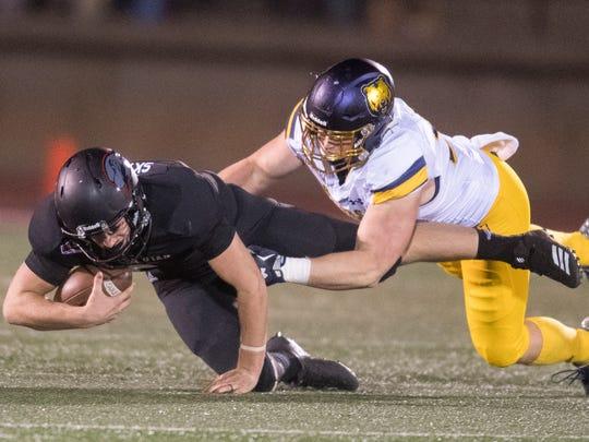 Southern Utah University football plays against University of Northern Colorado at SUU Saturday, October 27, 2018.
