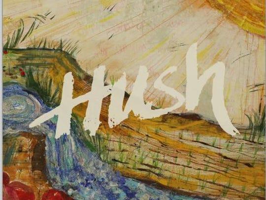 The artwork for Hush, the debut EP from Noell Kaylene.