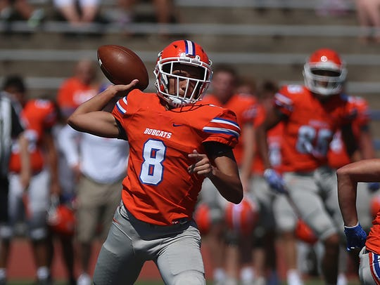 Sophomore Malachi Brown will make his first career start at quarterback for the San Angelo Central High School football team this week on the road against Cedar Park. He's taking over for injured senior Maverick McIvor.