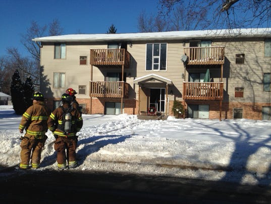 Springfield apartment fire