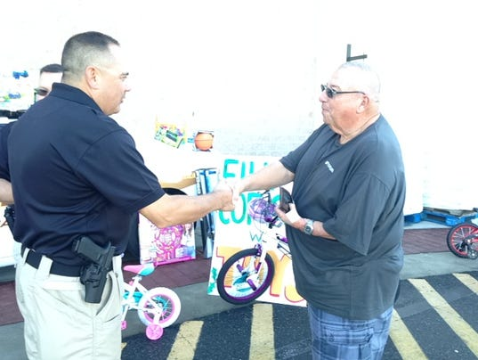 Accomack County Sheriff's Office toy drive