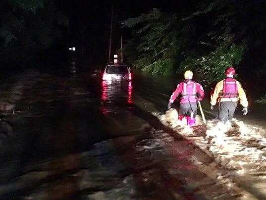 Flooding on Barley Mill Road