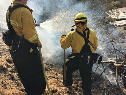 Keizer Fire District responds to Southern California wildfires