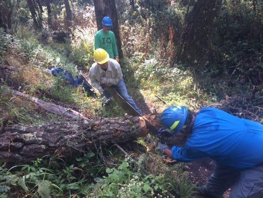 Smokey Bear Volunteers