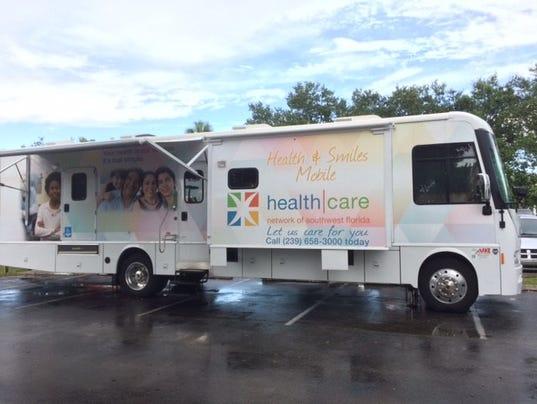 Mobile medical and dental van