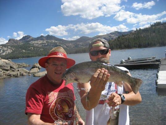 Fishing report for sept 3 for Caples lake fishing report
