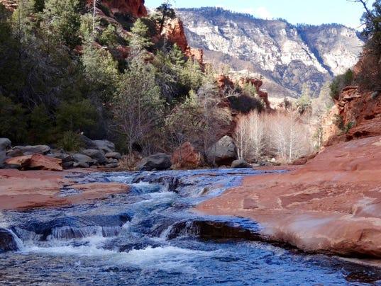 Travel channel sedona 39 s slide rock one of 10 best for Cabine vicino a slide rock sedona