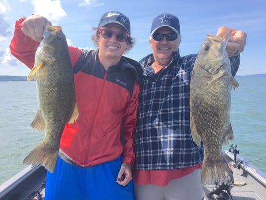 Chequamegon bay hayward area fishing report for july 19 for Fishing report bay area