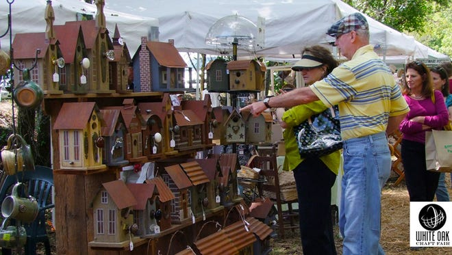 White Oak Craft Fair is set for Saturday and Sunday at the Arts Center of Cannon County in Woodbury.