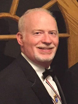 is Daniel Murphy, Grand Knight of the Knights of Columbus Council 6930, Our Lady of Lourdes Church, located in the Whitehouse Station in Readington Township.