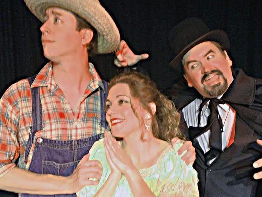Blake Evridge, Jessica Foix and Rhett Pennell