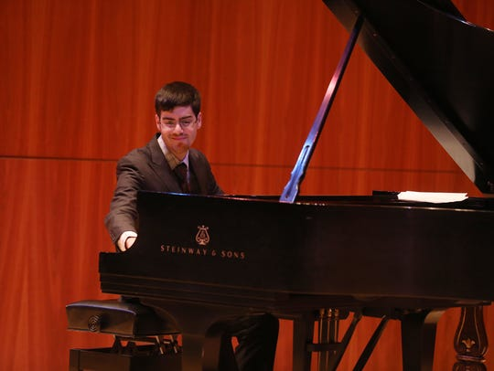 Matt Savage performs at Hatch Recital Hall during the
