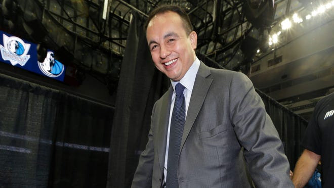 Gersson Rosas is out as Dallas Mavericks general manager,