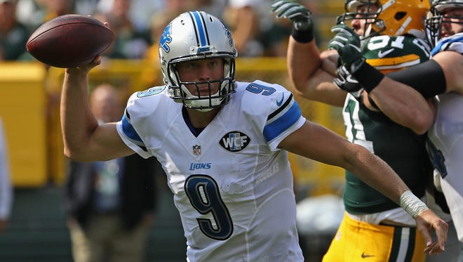 The Lions and Packers conclude the regular season Jan. 1 in Detroit.