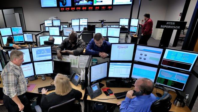 Harris Network operating center.