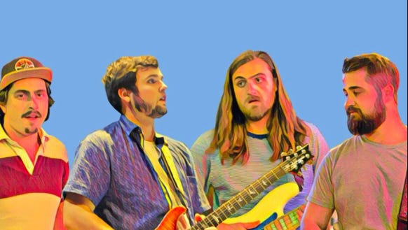 Philadelphia trio Dry Reef will mix reggae and rock when it returns to the Dogfish Head brewpub in downtown Rehoboth Beach at 10 p.m. Friday, Sept. 28. Admission is free.