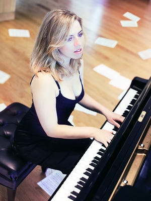 """Pianist Natasha Paremski will perform Modest Mussorgsky's """"Pictures at an Exhibition"""" on Friday, April 2, at Mesa Arts Center."""