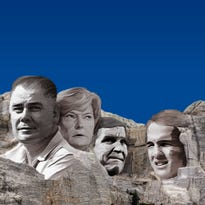 What four faces would be on a Tennessee Vols Mount Rushmore?