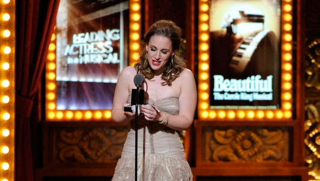 """Tony-winning actress Jessie Mueller is starring in a new Broadway musical """"Waitress,"""" which received a $25,000 contribution from Des Moines Performing Arts."""